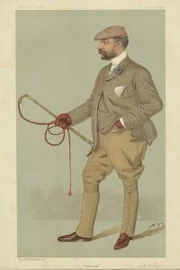 Mr Ernest Terah Hooley by Sir Leslie Ward