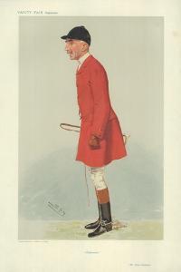 Mr Evan Hansbury by Sir Leslie Ward