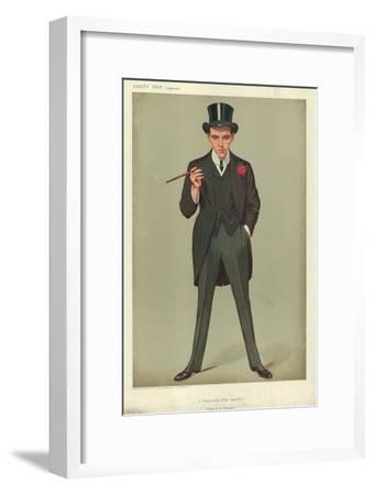Mr F E Smith, a Successful First Speech, Moab Is My Washpot, 16 January 1907, Vanity Fair Cartoon