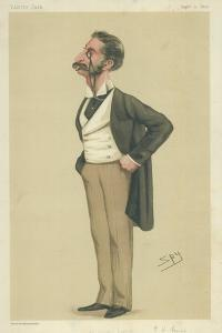 Mr George Henry Lewis by Sir Leslie Ward