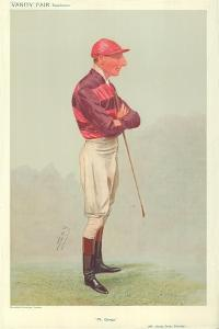 Mr George James Thursby, Mr George, 28 August 1907, Vanity Fair Cartoon by Sir Leslie Ward