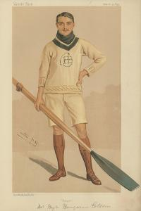 Mr Hugh Benjamin Cotton by Sir Leslie Ward