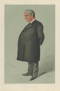 Sir Edmund Barton by Sir Leslie Ward