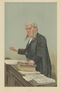 Sir Edward George Clarke by Sir Leslie Ward