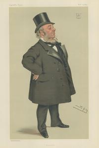 Sir George Elliot by Sir Leslie Ward