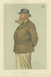 The Earl of Leicester by Sir Leslie Ward