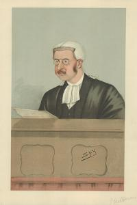 The Hon Sir Walter George Frank Phillimore by Sir Leslie Ward