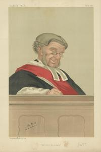 The Hon Sir William Robert Grove by Sir Leslie Ward