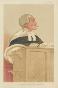 The Honourable Sir Anthony Cleasby by Sir Leslie Ward