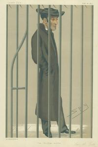The Reverend Arthur Tooth, the Christian Martyr, 10 February 1877, Vanity Fair Cartoon by Sir Leslie Ward