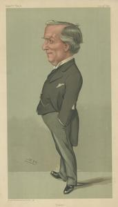 The Right Honourable Herbert Henry Asquith by Sir Leslie Ward