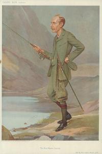 The Right Honourable Sydney Buxton by Sir Leslie Ward