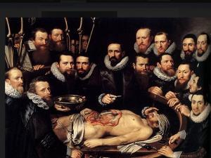 Anatomy Lesson Of Dr. Willem Van Der Meer by Sir Luke Fildes