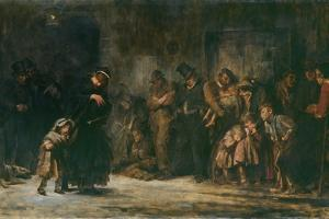 Applicants for Admission to a Casual Ward by Sir Luke Fildes