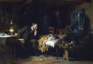 Fildes: The Doctor, 1891 by Sir Luke Fildes