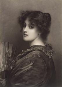 Sylvia by Sir Luke Fildes