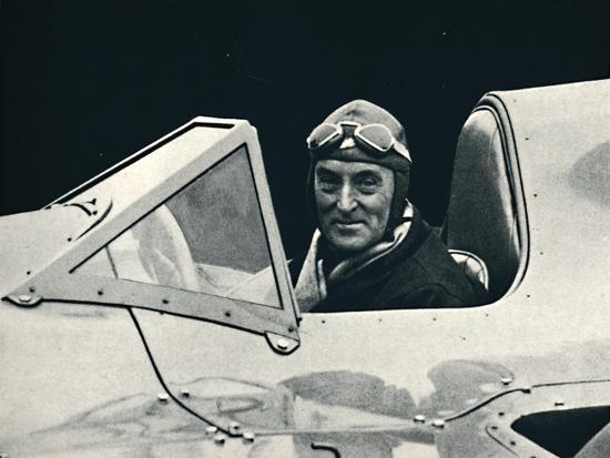 ''Sir Malcolm Campbell at the wheel of Bluebird', 1937-Unknown-Photographic Print