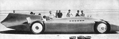 Sir Malcom Campbell (1885-194) in Bluebird, Daytona Beach, Florida, 7th March 1935 193)--Giclee Print