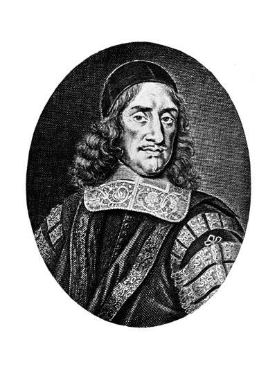 Sir Orlando Bridgeman, 17th Century-R White-Giclee Print