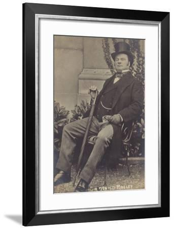 Sir Oswald Mosley--Framed Photographic Print