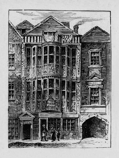 'Sir Paul Pindar's House', 1890-Unknown-Giclee Print