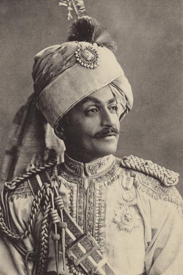 Sir Pertab Singa--Photographic Print
