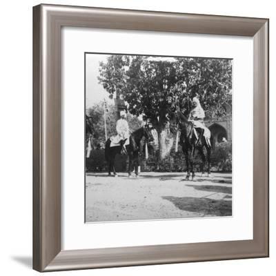 Sir Pertab Singh, Delhi, India, 1900s- H & Son Hands-Framed Giclee Print