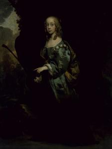 Portrait of a Young Girl in Green by Sir Peter Lely