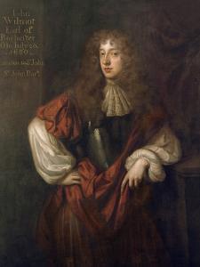 Portrait of John Wilmot (1647-80) 2nd Earl of Rochester by Sir Peter Lely