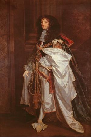Portrait of Prince Rupert (1619-1682) in Garter Robes