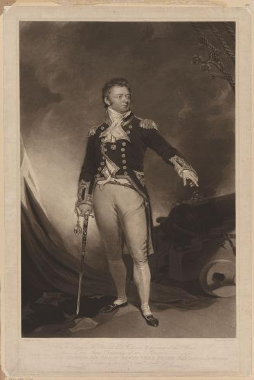 Sir Philip Bowes Vere Broke (1776-184), 1816-Samuel Lane-Giclee Print