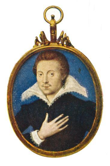 'Sir Philip Sidney', c1580-1610, (1903)-Isaac Oliver I-Giclee Print