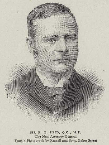 Sir R T Reid--Giclee Print