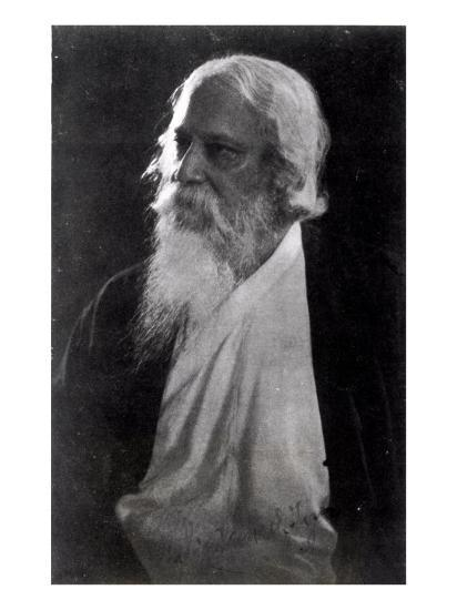 Sir Rabindranath Tagore--Giclee Print