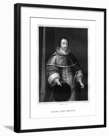 Sir Ralph, Lord Hopton, English Soldier-TA Dean-Framed Giclee Print