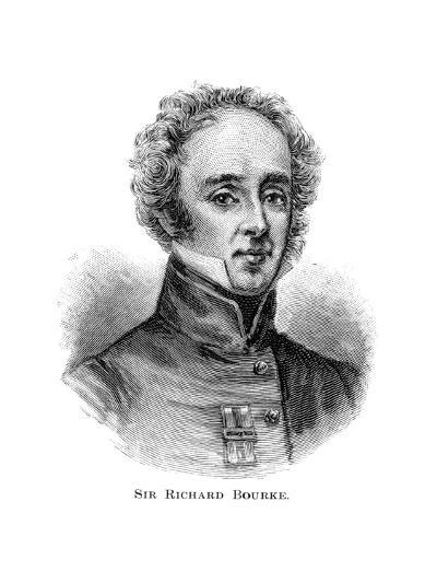 Sir Richard Bourke, Governor of New South Wales--Giclee Print