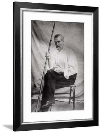 Sir Richard Burton (1821-90) from 'The Life of Captain Sir Richard Burton, Volume II' by Isabel…--Framed Photographic Print