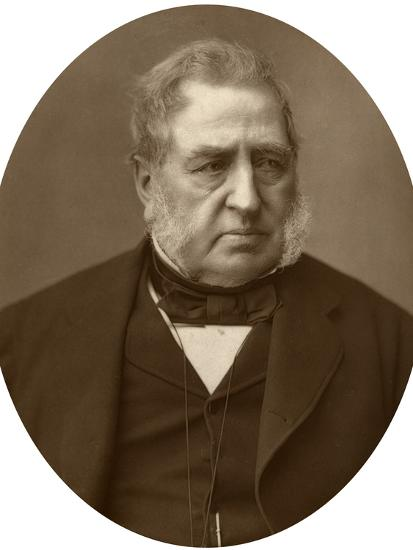 Sir Richard Malins, Politician and Jurist, 1882-Lock & Whitfield-Photographic Print