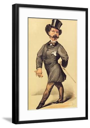 Sir Robert Peel (1822-95), Cartoon from Vanity Fair, 19 March 1870--Framed Giclee Print