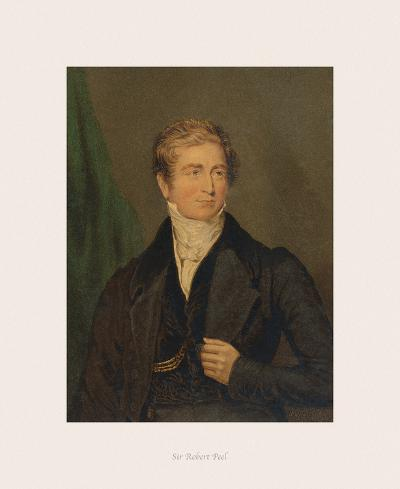 Sir Robert Peel-The Victorian Collection-Premium Giclee Print