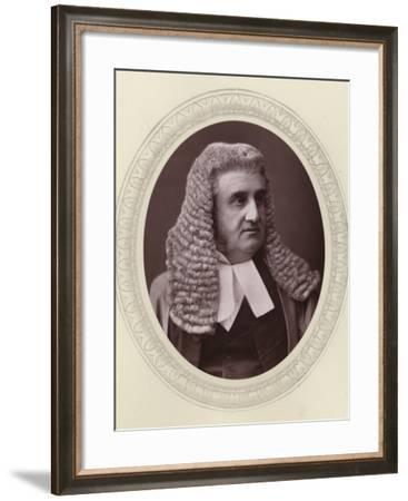 Sir Robert Phillimore, English Judge and Politician--Framed Photographic Print