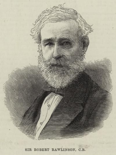 Sir Robert Rawlinson--Giclee Print