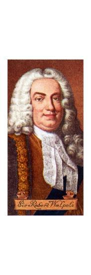 Sir Robert Walpole, taken from a series of cigarette cards, 1935. Artist: Unknown-Unknown-Giclee Print