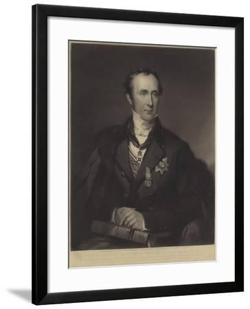 Sir Roderick Impey Murchison, Scottish Geologist--Framed Giclee Print