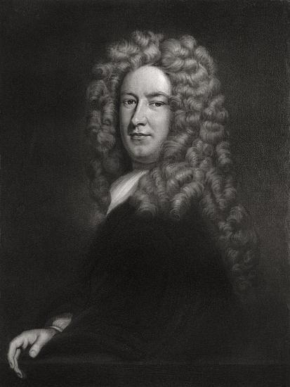 Sir Samuel Garth, English Physician and Poet C1705-1710-Godfrey Kneller-Giclee Print