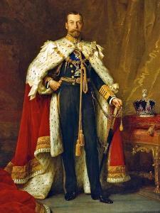 King George V, 1911 by Sir Samuel Luke Fildes
