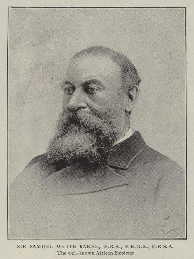 Sir Samuel White Baker--Giclee Print