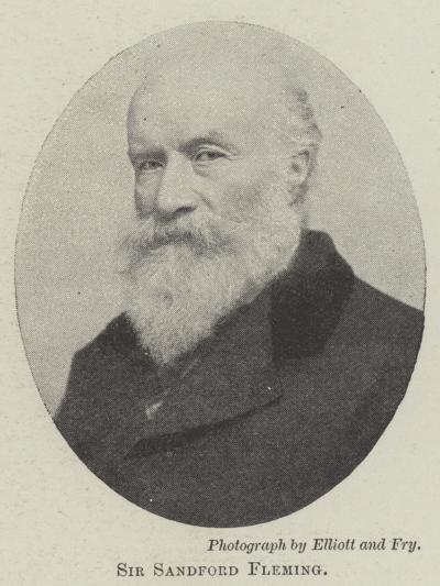 Sir Sandford Fleming--Giclee Print
