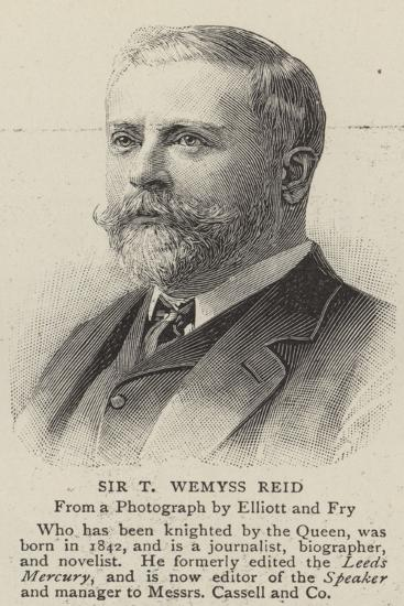 Sir T Wemyss Reid--Giclee Print