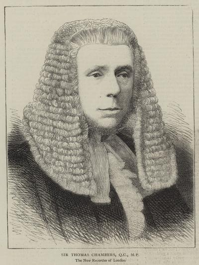 Sir Thomas Chambers--Giclee Print